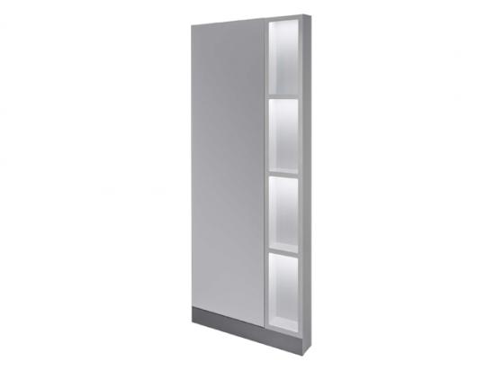 Ayala GLOBE - Zrkadlo + LED + zásuvka