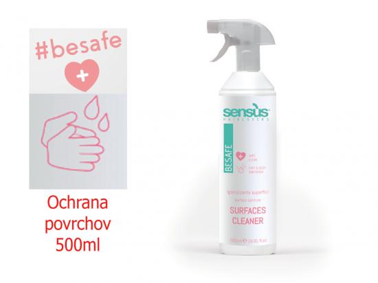 Sens.Us 500ml Dezin. na povrchy BeSafe Surface cleaner